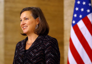 US Assistant secretary of State for European and Eurasian Affairs Victoria Nuland visits Romania